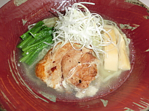 麺らいけん 炙りちゃーしゅー麺