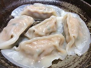 麺らいけん - 茹餃子